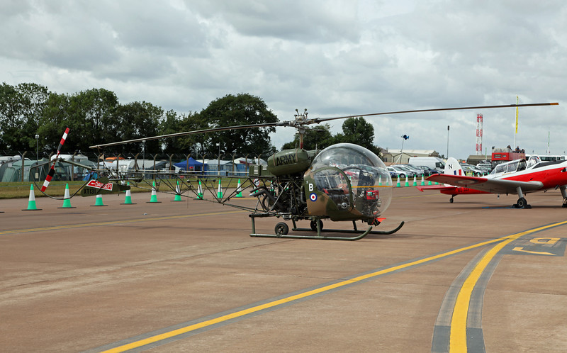 XT-131 Agusta Bell Sioux AH-1 (RAF Fairford) Army Air Corps