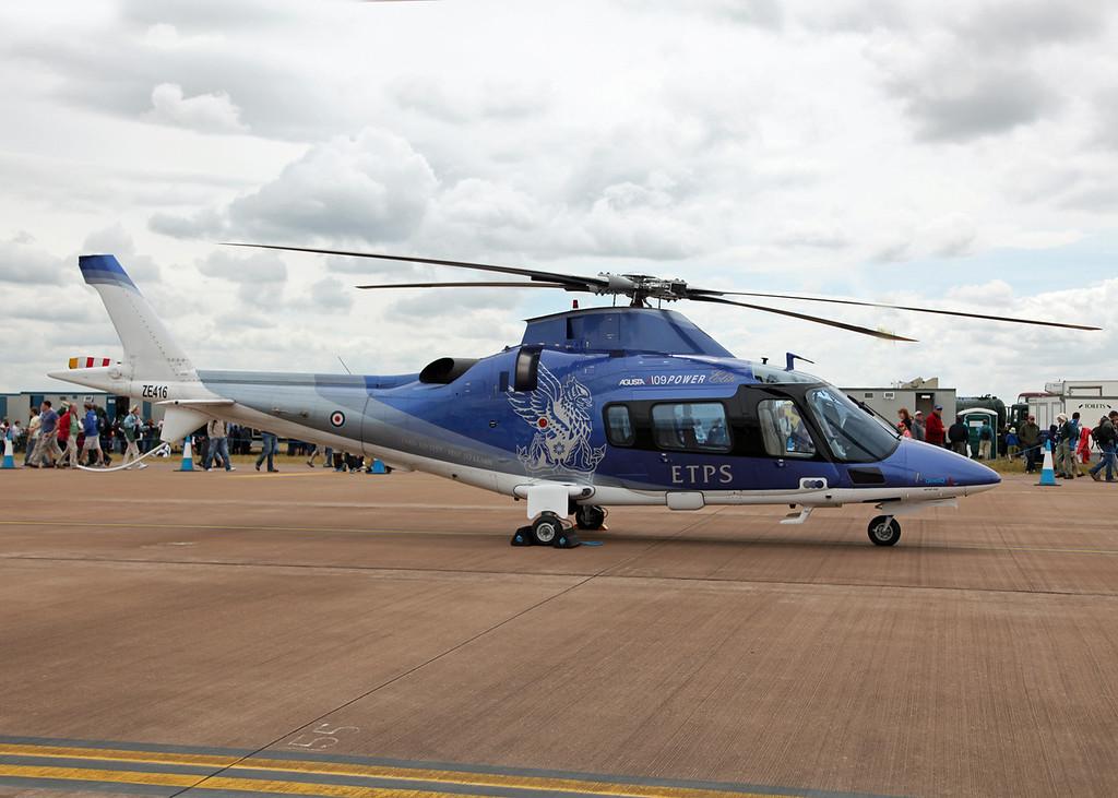 ZE416 Agusta A109 E (RAF Fairford) QuinetiQ (RIAT 2010)