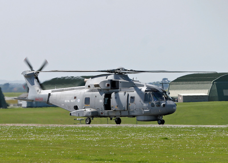 ZH856 AgustaWestland EH101 Merlin HM1 (RNAS Culdrose) Royal Navy