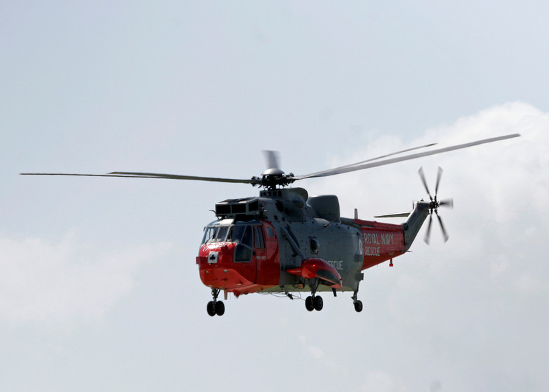 XV670 Westland Sea King HU5 (RNAS Culdrose) Royal Navy2