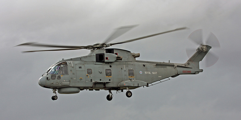 ZH839 Agusta Westland EH-101 Merlin HM1 (RAF Fairford) Royal Navy
