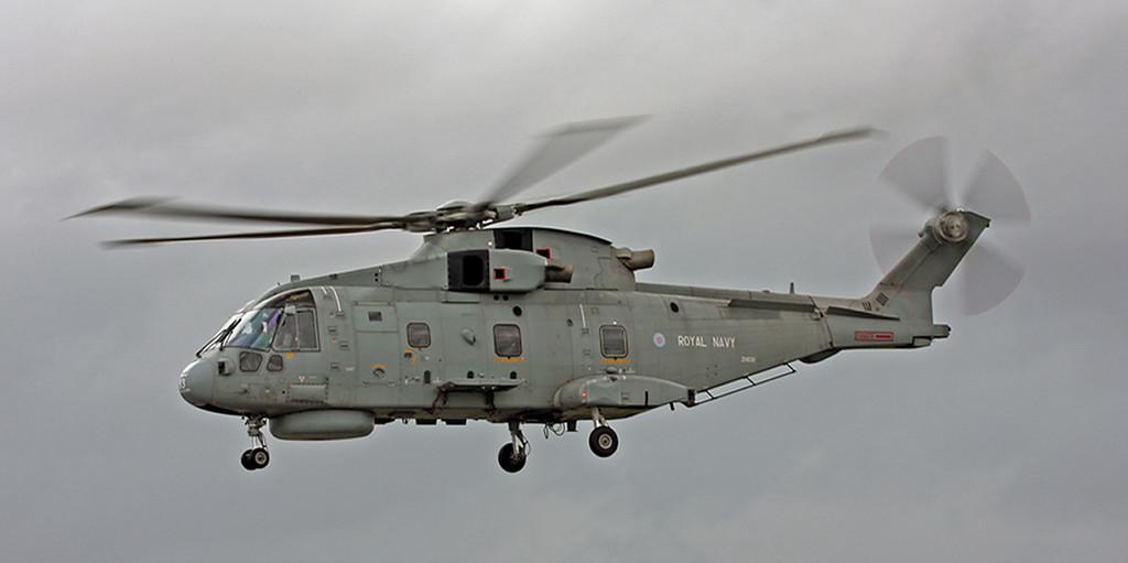 ZH839 Agusta Westland EH-101 Merlin HM1 (RAF Fairford) Royal Navy