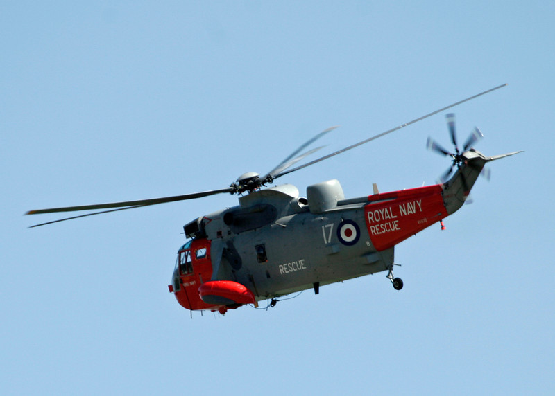 XV670 Westland Sea King HU5 (RNAS Culdrose) Royal Navy