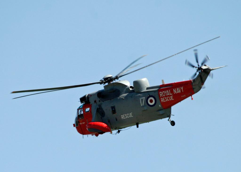 XV670 Westland Sea King HU5 (RNAS Culdrose) Royal Navy