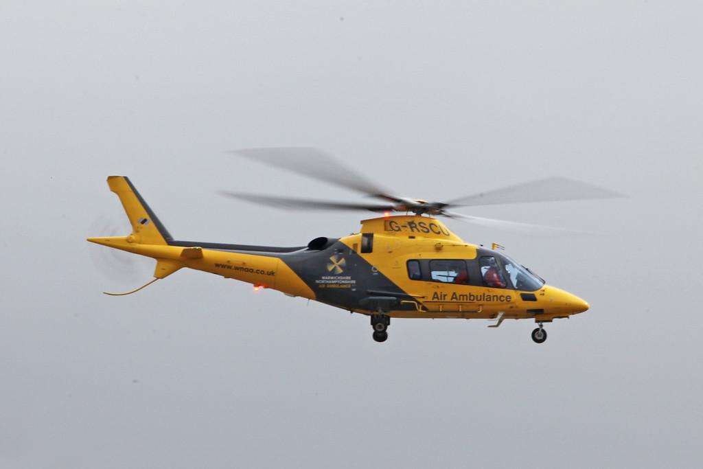 G-RSCU Agusta A109E (Coventry) Warwickshire & Northamptonshire Air Ambulance