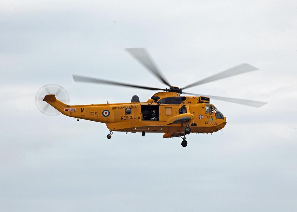 XZ597 Westland Sea King HAR3 (RAF Valley) Royal Air Force