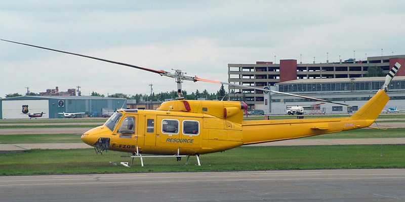 C-FZQB Bell 212 (Edmonton Airport) Resource Helicoptors