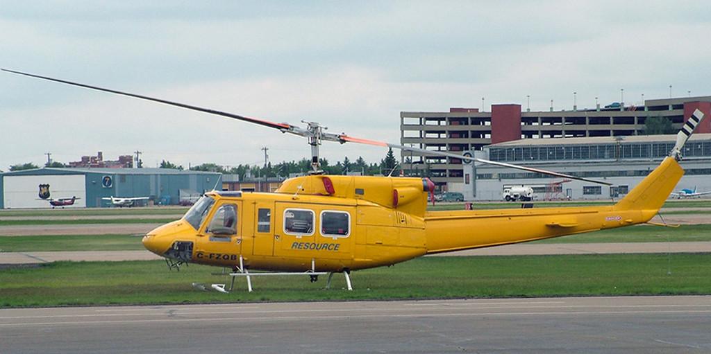 C-FZQB Bell 212 (Edmonton Airport) Resource Helicoptors