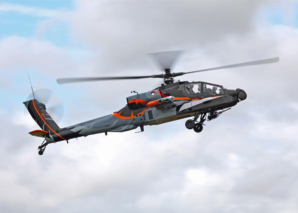 Q-17 Boeing AH-64D Apache Longbow [H64] (RAF Fairford) Royal Netherlands Air Force [RIAT 2011] 1