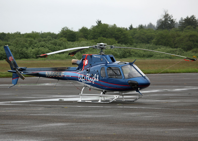 N805LF American Eurocopter LLC AS350B3 (Astoria, Oregon - USA) Suntrust Equipment Financing and Leasing Corps