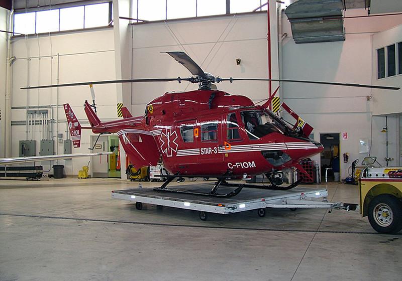 C-FIOM Messerschmitt MBB-BK117 A-4D (Edmonton Airport) STARS