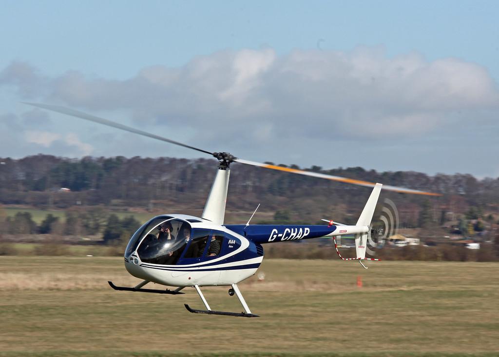 G-CHAP Robinson R44 (Half Penny Green) BRIERLEY LIFTING TACKLE COMPANY LTD