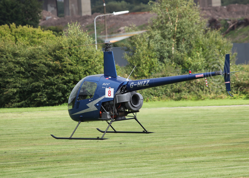 G-HIZZ Robinson R22 Beta (Barton) Flyfare 2
