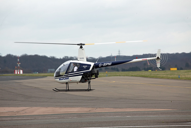 G-BPNI Robinson R22 Beta (Coventry) Heliflight