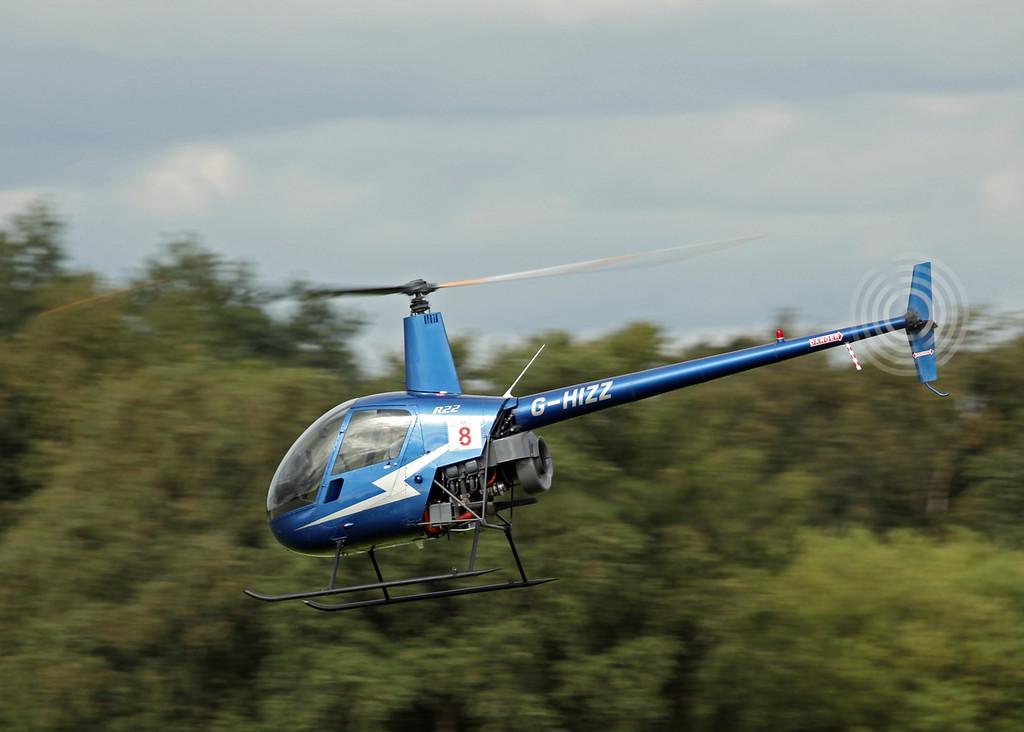 G-HIZZ Robinson R22 Beta (Barton) Flyfare