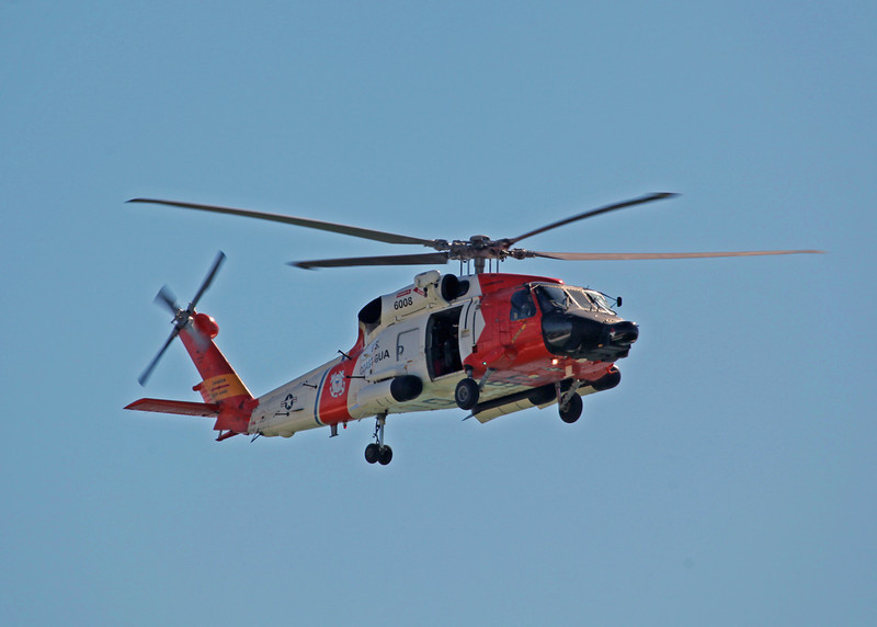 6008 Sikorsky MH-60J Jayhawk (In-Flight over Holmes Beach FL) United States Coast Guard [Clearwater station] 3