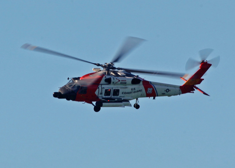 6008 Sikorsky MH-60J Jayhawk (In-Flight over Holmes Beach FL) United States Coast Guard [Clearwater station] 4