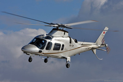 HB-ZIM Agusta A109E Skymedia @ Zurich Switzerland 30Jan10