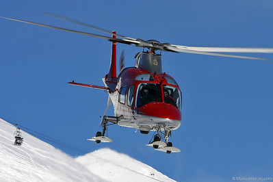 HB-XQE A109E FOCA @ Lauberhorn Switzerland 13Jan08