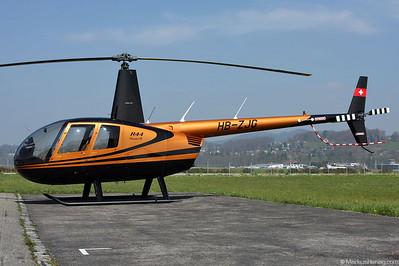 HB-ZJG R44 Raven II Swiss Jet @ Bern Switzerland 18Mar08
