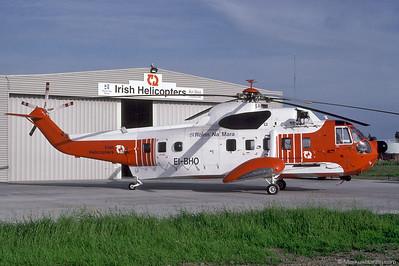 EI-BHO S61N Irish Helicopters @ Shannon Ireland 15Jun92