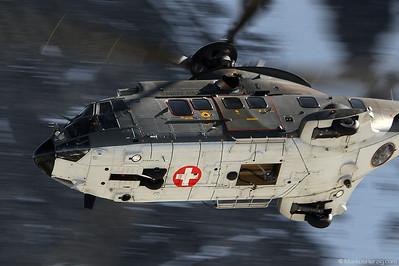 T-339 AS532UL Swiss Air Force @ Axalp Switzerland 11Oct11