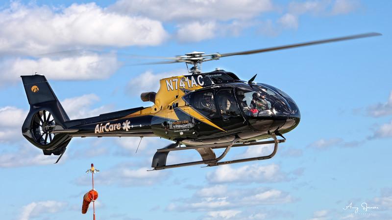 University of Iowa AirCare One Launching