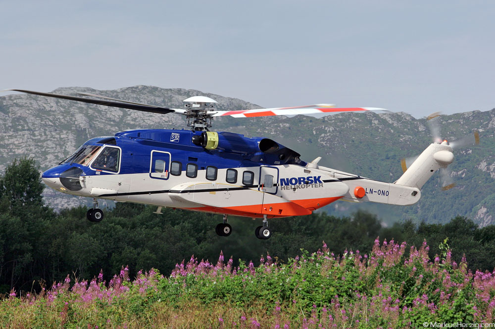 LN-ONO S92 Norsk Helikopter @ Bergen Norway 22Jul07