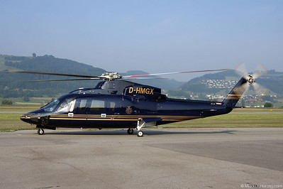 D-HMGX S-76C++ Private @ Bern Switzerland 1Jul10