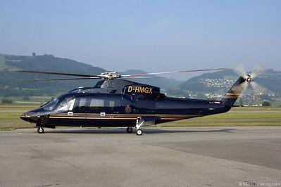 D-HMGX S-76C++ Private @ Bern Switzerland 1Jul10