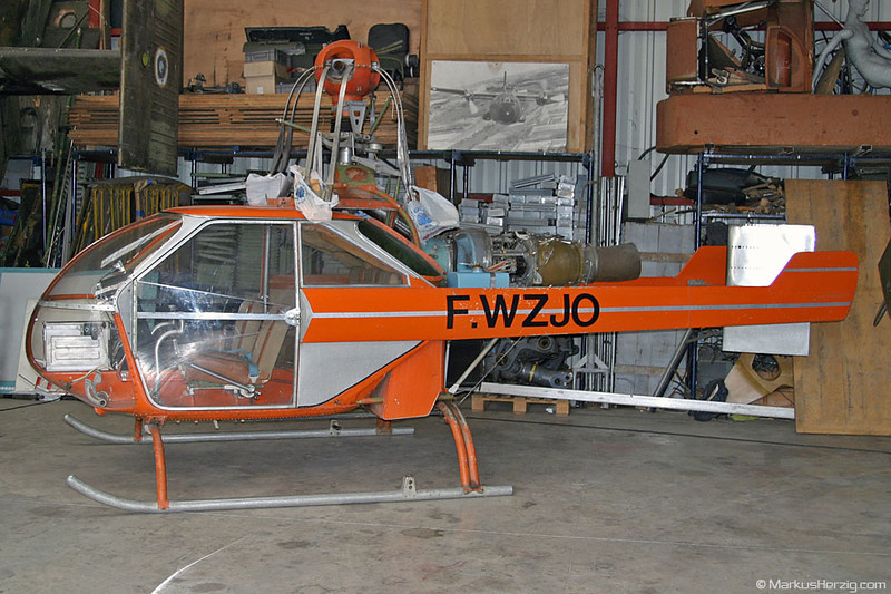 F-WZJO Déchaux Helicop-Jet 2nd prototyp @ Grenoble France 13Apr03