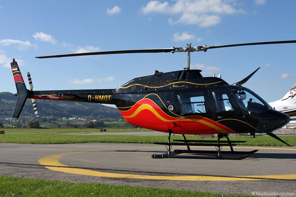 D-HMOT Bell 206B Heliteam Süd @ Bern Switzerland 21Oct10