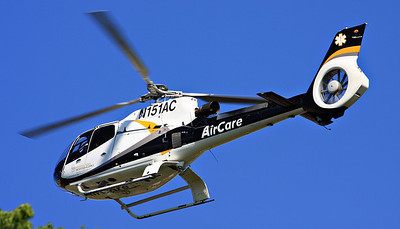 University of Iowa AirCare One.  Mike Metzger Pilot