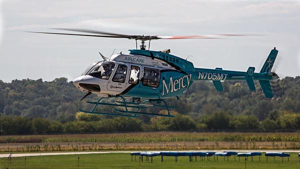 Mercy Air Care, N705MT, Sioux City, Iowa