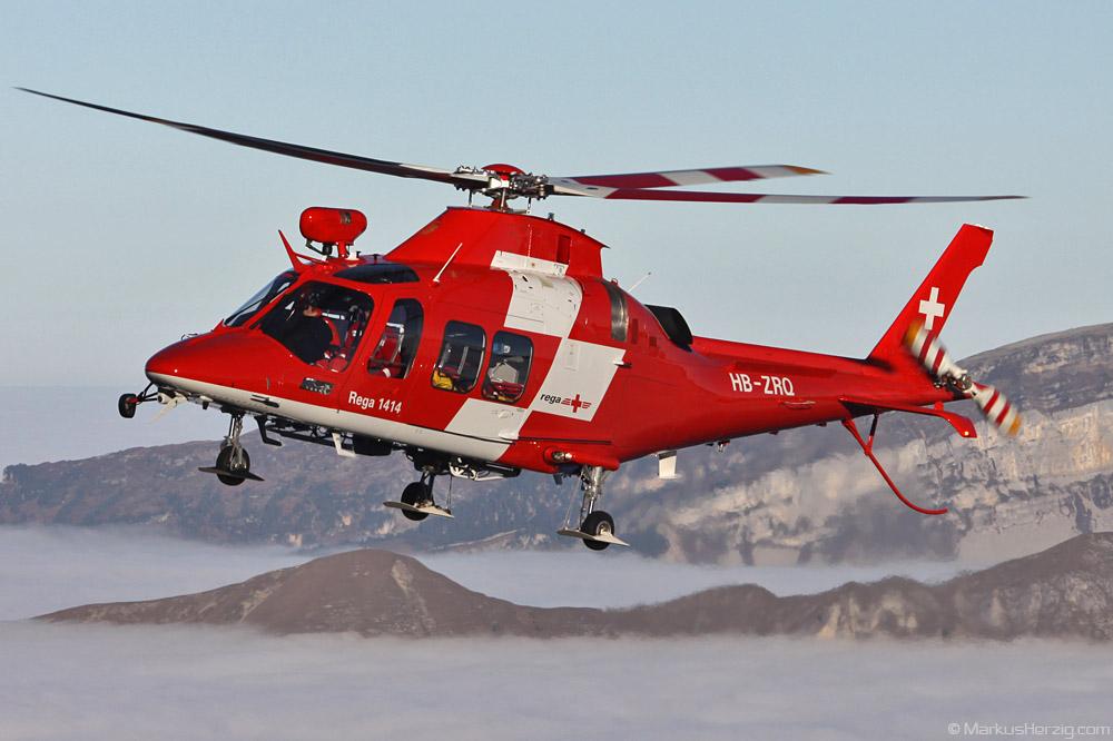 HB-ZRQ AW109SP Rega @ Axalp Switzerland 14Oct10