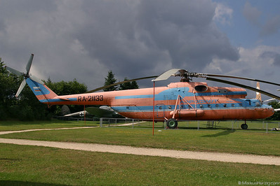 RA-21133 Mi-6A Aeroflot @ Hermeskeil Germany 30Jul05