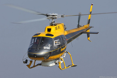 SE-JFL AS350B2 Osterman Helicopter @ Bern Switzerland 1Jul10
