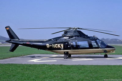 D-HCKV A109 MHS Munich @ Bern Switzerland 16Mar91