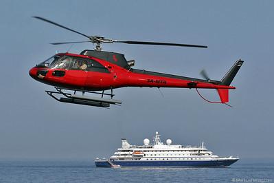 3A-MTA AS350B2 Heli Air Monaco @ Monaco 24May07 - SEA DREAM 1