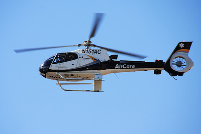 AirCare One, pilot Dennis Wood.