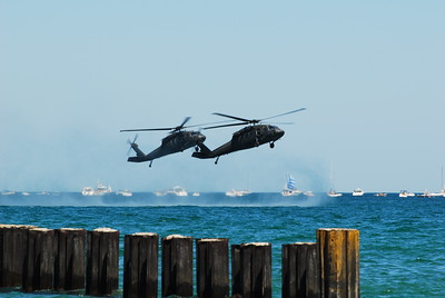 Black Hawk Helicopter - Chicago Air & Water Show - Chicago, Illinois - Photo Taken: August 15, 2010