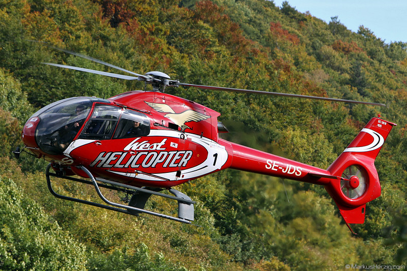 SE-JDS EC120B West Helicopter @ Grand Ballon France 1Oct10 - Rallye de France
