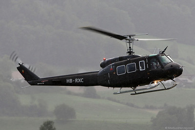 HB-RXC Bell UH-1H @ Bern Switzerland 27Aug10