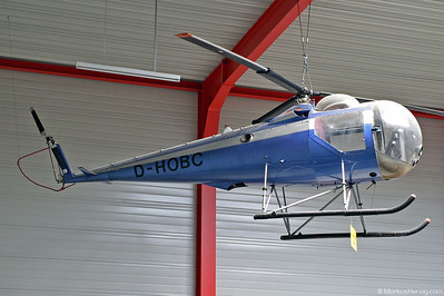 D-HOBC Brantly B-2 Private @ Hermeskeil Germany 30Jul05 - ex HB-XAZ