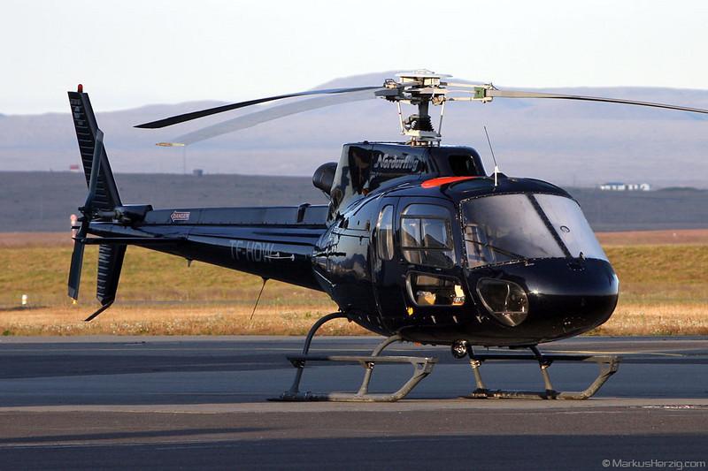 TF-HDW AS350B2 Nordurflug @ Reykjavik Iceland 30Jul09