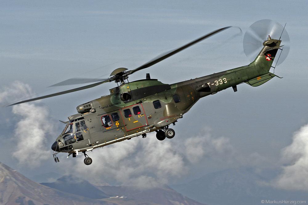T-333 AS532UL Swiss Air Force @ Axalp Switzerland 12Oct06