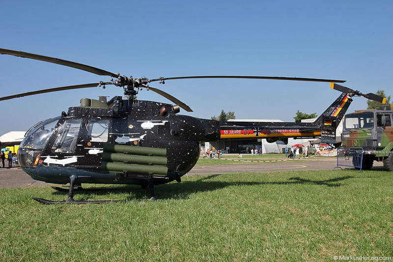 87+38 MBB BO105P Germany Army @ Phalsbourg France 16Sep07
