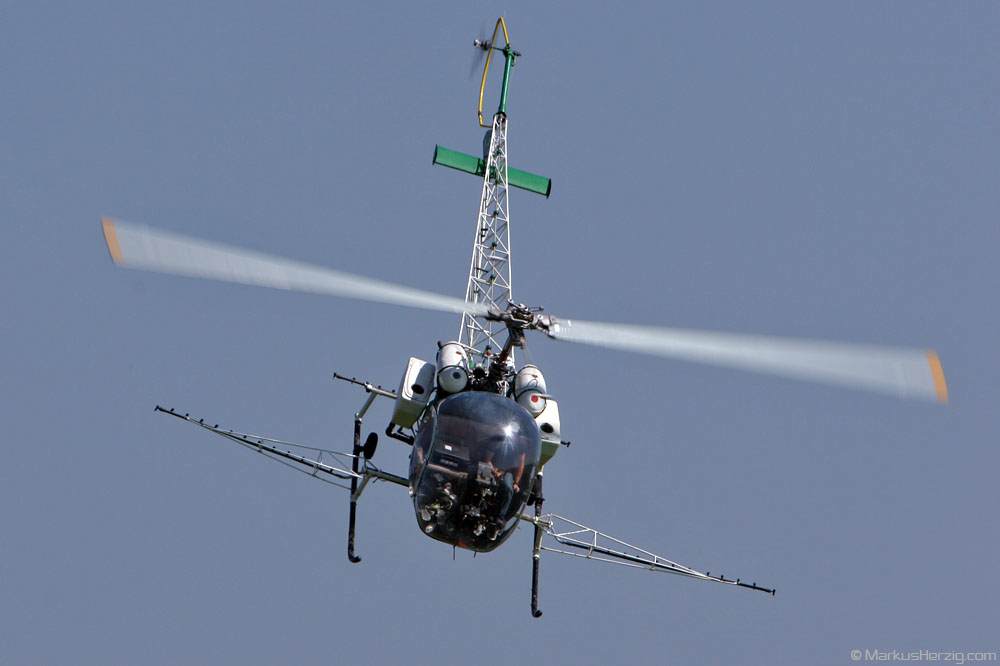 F-GDPO Bell 47G-2 Air Action @ Phalsbourg France 16Sep07 - ex HB-XHX