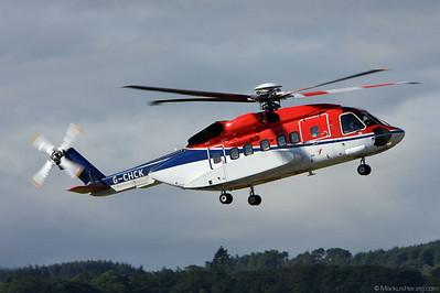 G-CHCK S92 CHC Scotia @ Aberdeen Scotland 5Aug08