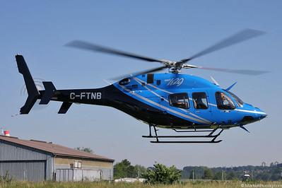 C-FTNB Bell 429 Bell Helicopters @ Bern Switzerland 24Jun10